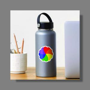 Rainbow-Heart-Bouquet-Sticker