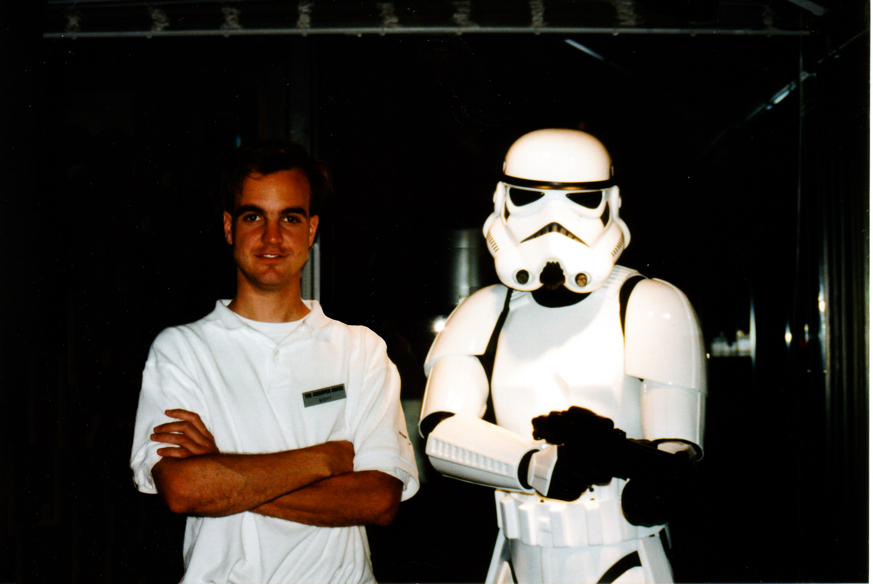 Me, with Stormtrooper